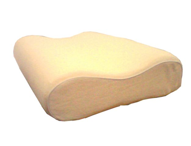 Spine Align Memory Foam Pillow Curved Shape Memory Foam