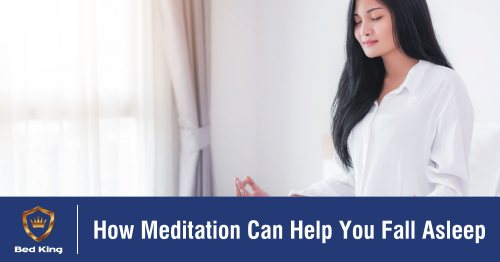 How Meditation Can Help You Fall Asleep