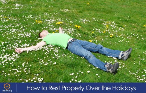 Get proper rest over the holidays with these top tips