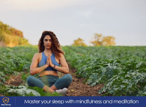 How a focus on mindfulness can improve your sleep.
