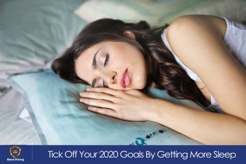 Stick to your 2020 resolutions - get more sleep!
