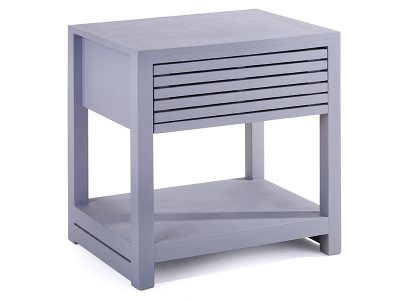 Harrow Pedestal with Drawer and Shelf