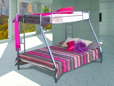 Piper Triple Bunk (Single and Double Bed)