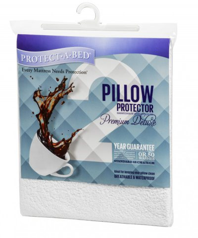 Protect a Bed Premium Waterproof Pillow Protector