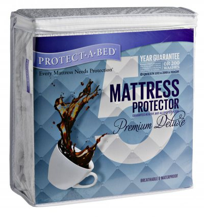 Protect a Bed Premium Deluxe Waterproof Mattress Protector