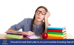 Should Schools Start Later to Accommodate Snoozing Teens?