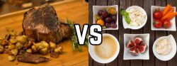 The Battle of Bedtime: Meat Eaters vs Vegetarians