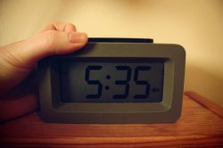 The Snooze Button of Tiredness