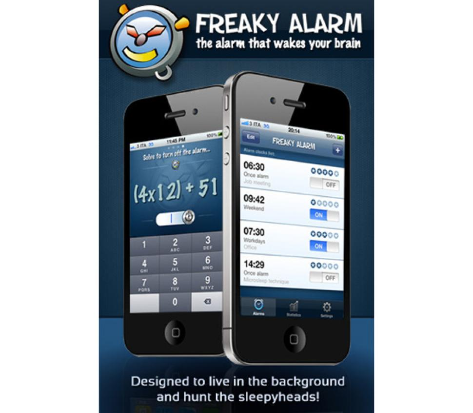 The Freaky Alarm for iOS